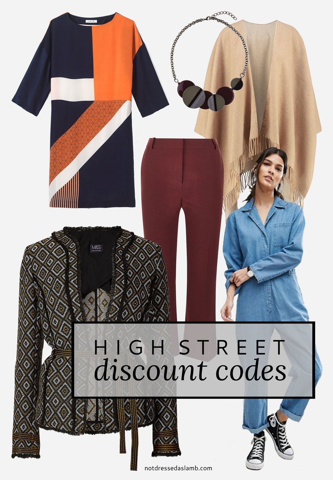 High street shopping online discount codes | Not Dressed As Lamb