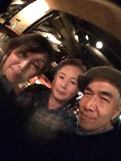 iphone photo 902: After the show at Manda-La 2, Kichijoji Tokyo, 23 Feb 2017 (fisheyed)