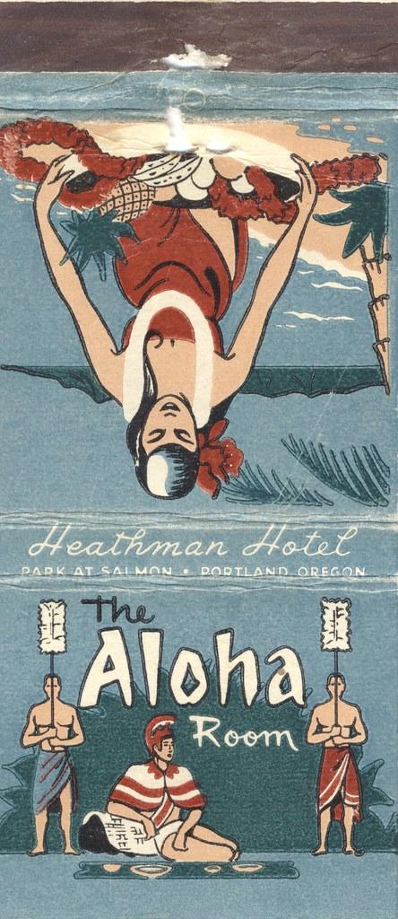 Aloha Room at the Heathman Hotel - Portland, Oregon