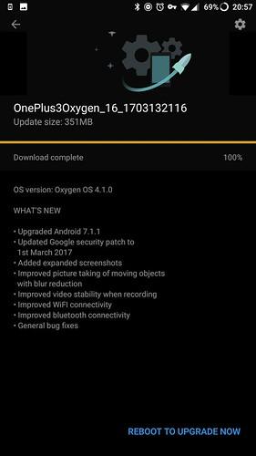 OxygenOS 4.1.0