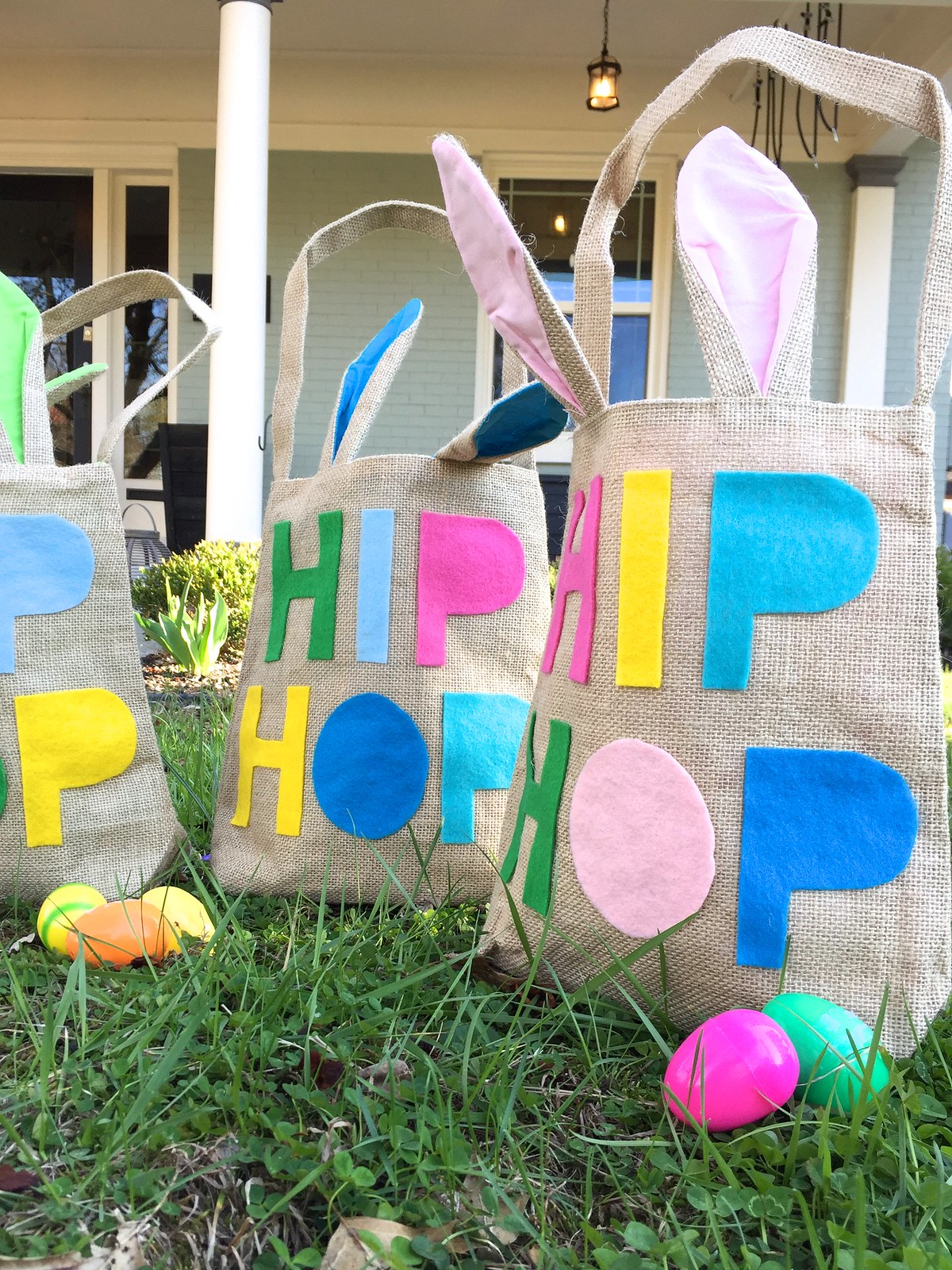 DIY No-Sew Easter Baskets