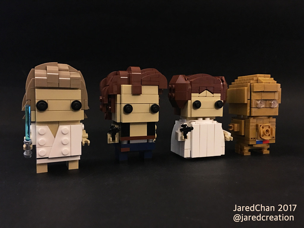 Star Wars Brickheadz - Jared Chan