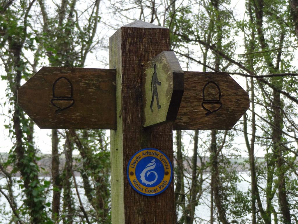 Pembrokeshire Coast Path signage