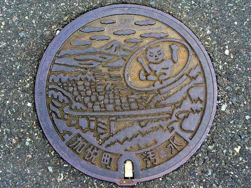 Kaya Kyoto, manhole cover 2 (京都府加悦町のマンホール2)