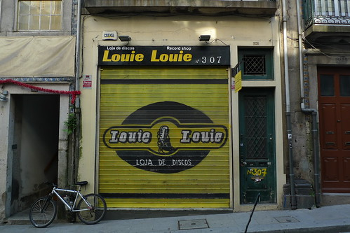 Louie Louie Record Shop - Porto, Portugal