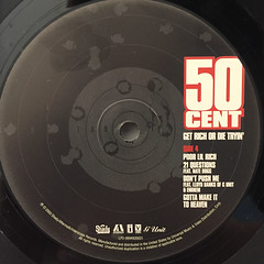 50 CENT:GET RICH OR DIE TRYIN'(LABEL SIDE-D)