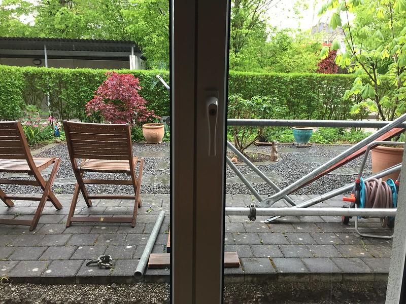 Front Garden rain