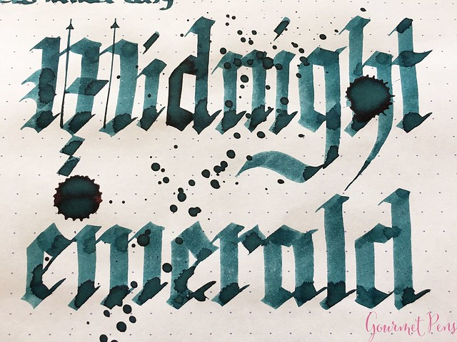 Ink Shot Review Franklin-Christoph Midnight Emerald @1901FC 11
