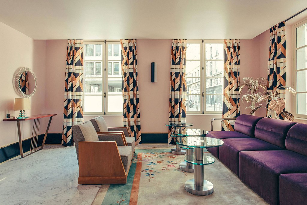 Elegant hotel Saint-Marc in Paris by the Milan design agency DIMORESTUDIO Sundeno_08