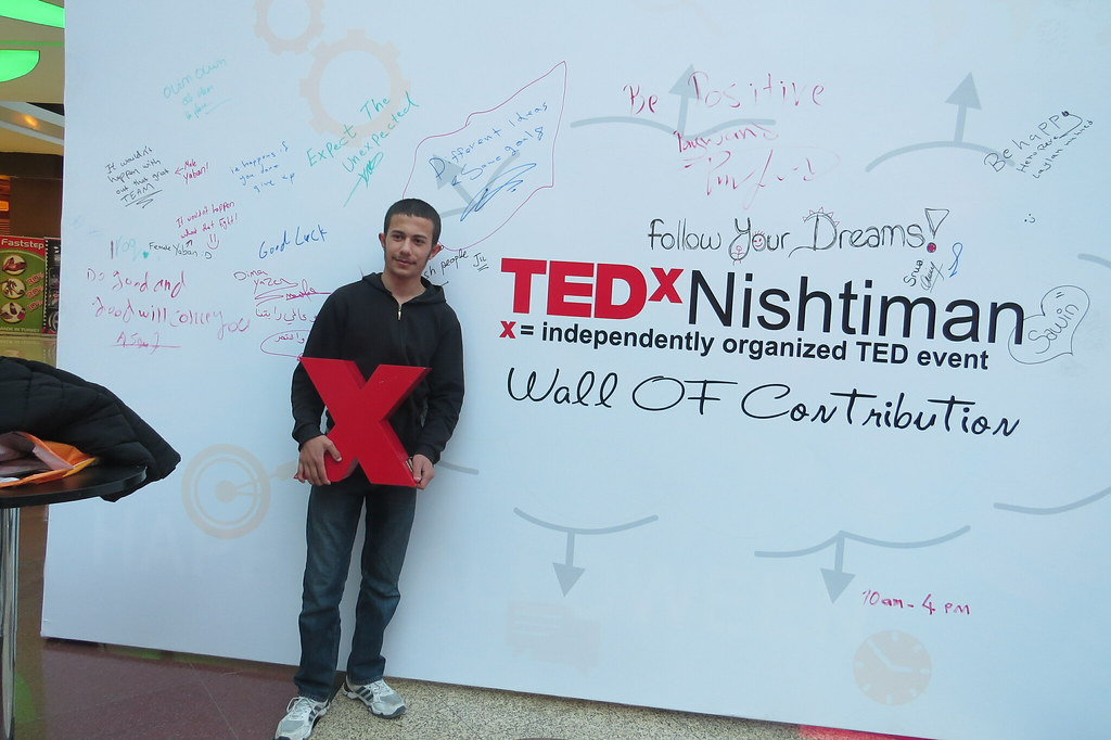 TEDxNishtiman at Family Mall Erbil