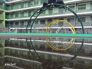 CIRCLEG 遊記 香港 石峽尾 南山邨 天空之鏡 倒影 特色邨屋 彩虹  (19)