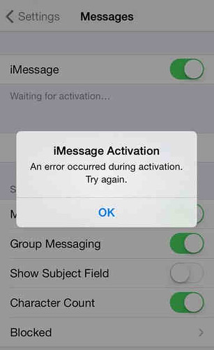 """iMessage-error-""""waiting-for-activation""""-on"""