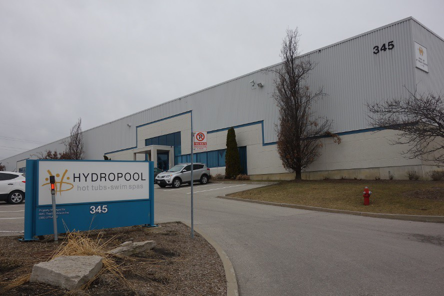 Hydropool Hot Tubs and Swim Spas Factory