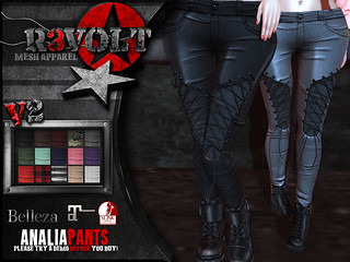 [R3] Analia Pants [V2] | by ScarletSinger