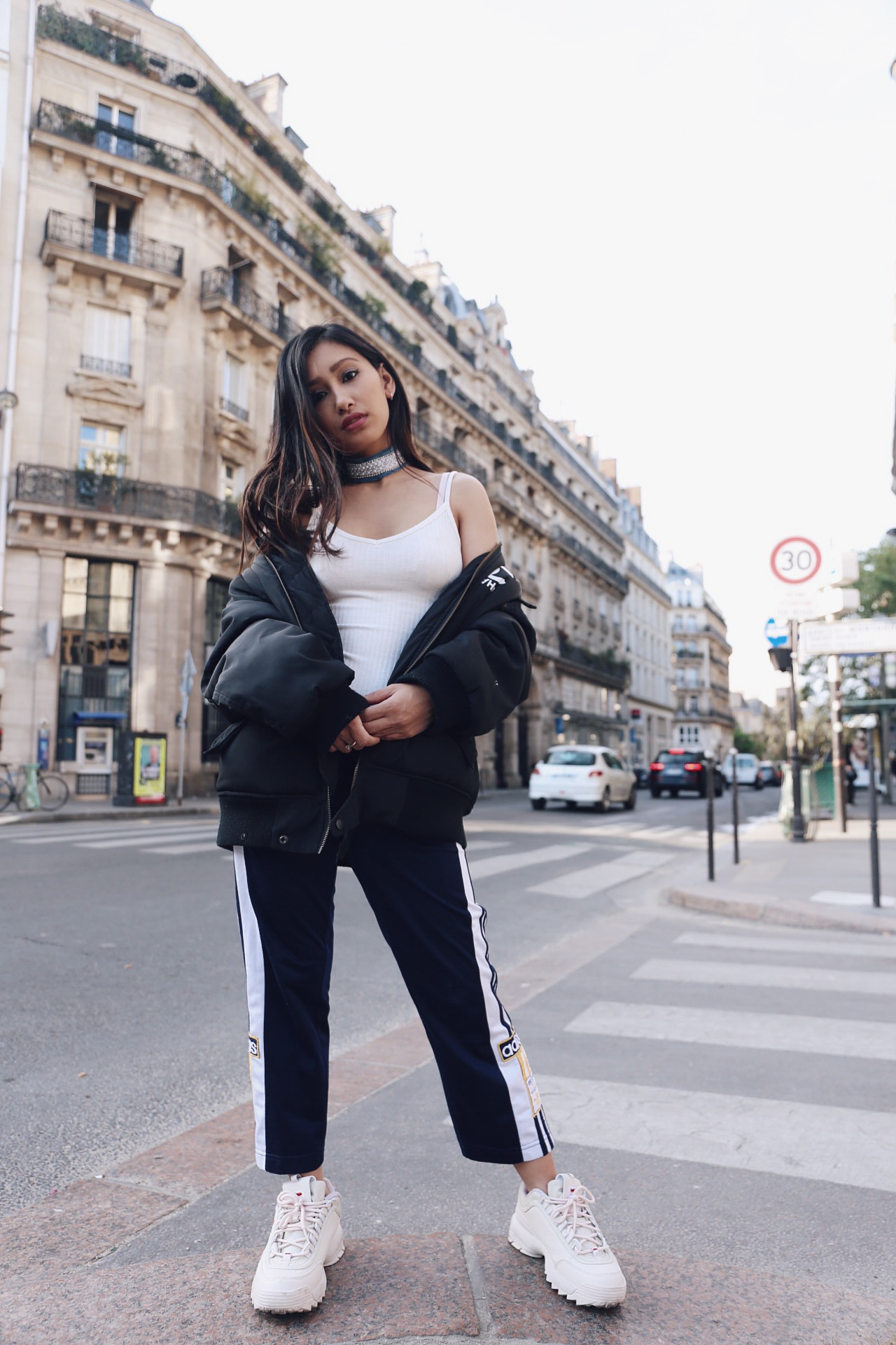 Baskets style 90's : Fila Disruptor Blog Mode Paris