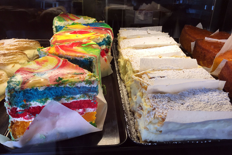 Rainbow cake, Bakehouse South Coogee