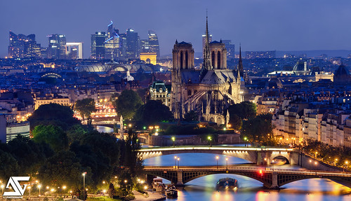 Paris la d fense notre dame arc de triomphe la d fense flickr for Photographe la defense