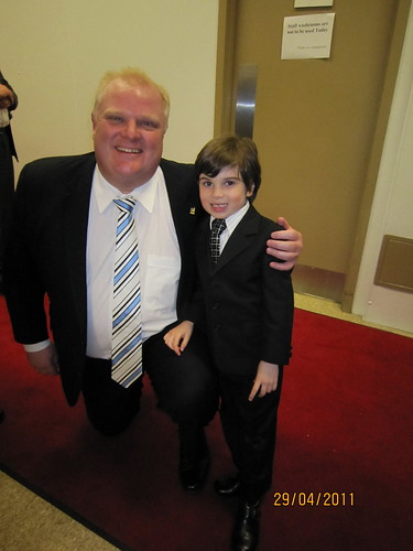 Josh & Mayor Ford | by www.lemonade4heart.org