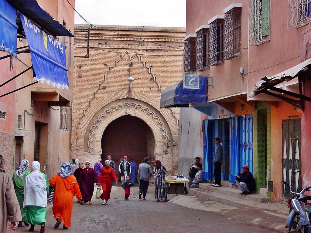 marrakech bab ed debbagh peter connolly flickr. Black Bedroom Furniture Sets. Home Design Ideas