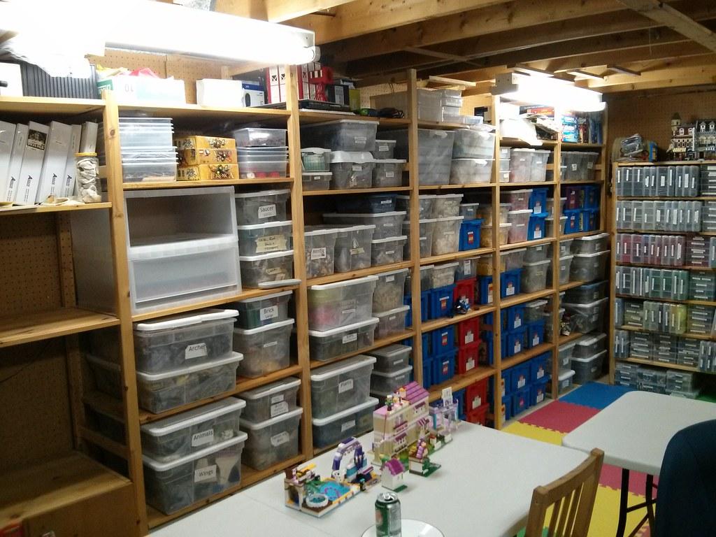 Reorganizing Room: Lego Room Reorganization