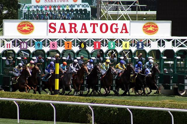 games of horses racing at saratoga