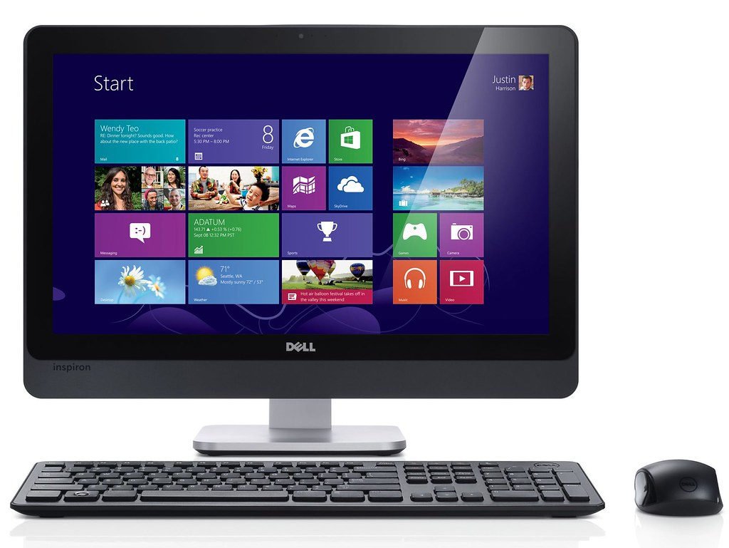 Dell Inspiron One 23 Touch AIO Desktop PC | See more: Back ...