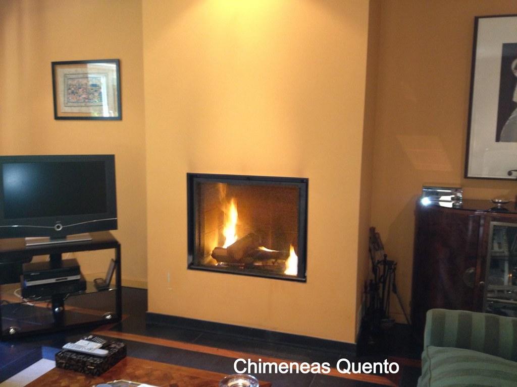 Chimenea quento stuv 85 showroom crta - Chimeneas quento ...