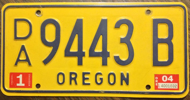 Oregon Car Registration Price