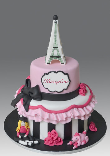 Paris Chic Cake Angeliki Kalouta Flickr