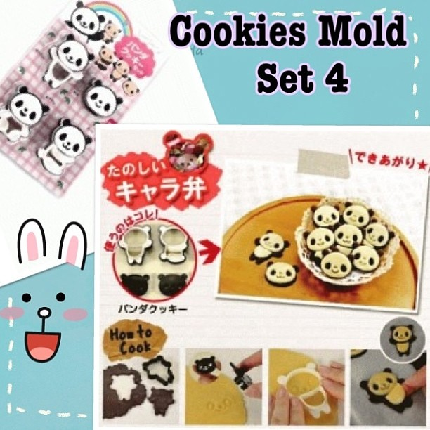 Cookies Mold Set 4 Cookies Mold Cetakan Kue Kering B Flickr