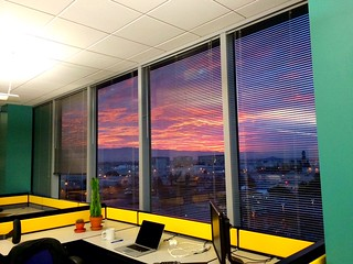 Sunset at the office | by pjdonnelly