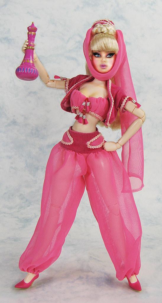 ... I Dream of Jeannie doll   by infadoll  sc 1 st  Flickr & I Dream of Jeannie doll   Pop Life Barbie head Obitsu bodyu2026   Flickr