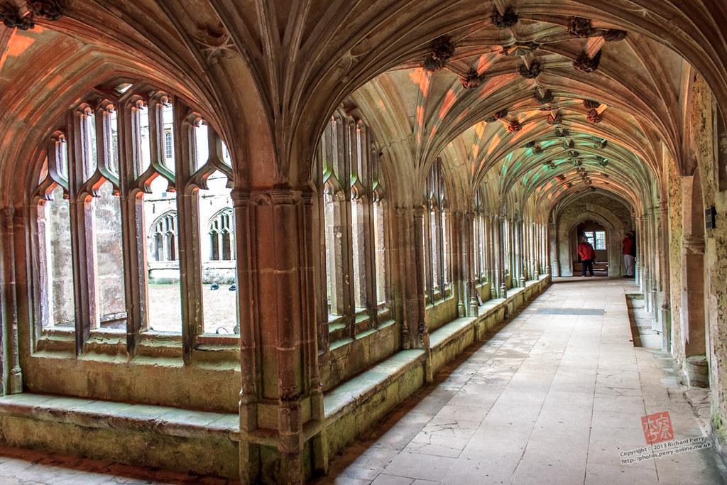 Hogwarts Corridors At Lacock Abbey Hogwarts Corridors At L Flickr