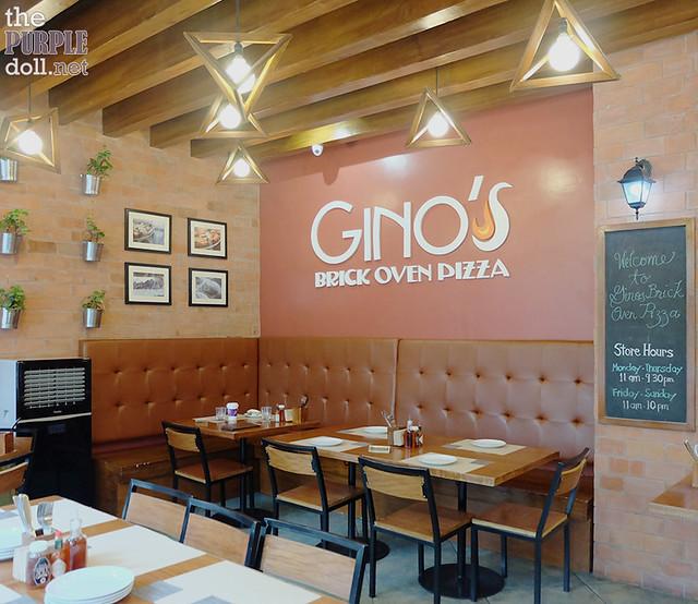 Gino's Brick Oven Pizza Serendra