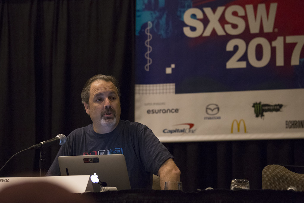 Dave Pell at SXSW 2017
