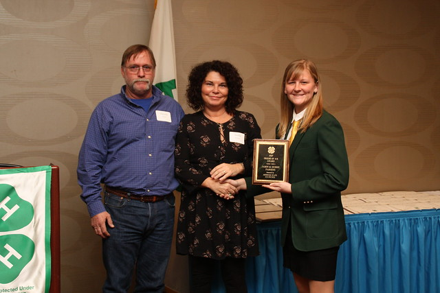 Jason and Debbie Parsons, 2017 Friend of 4-H Award