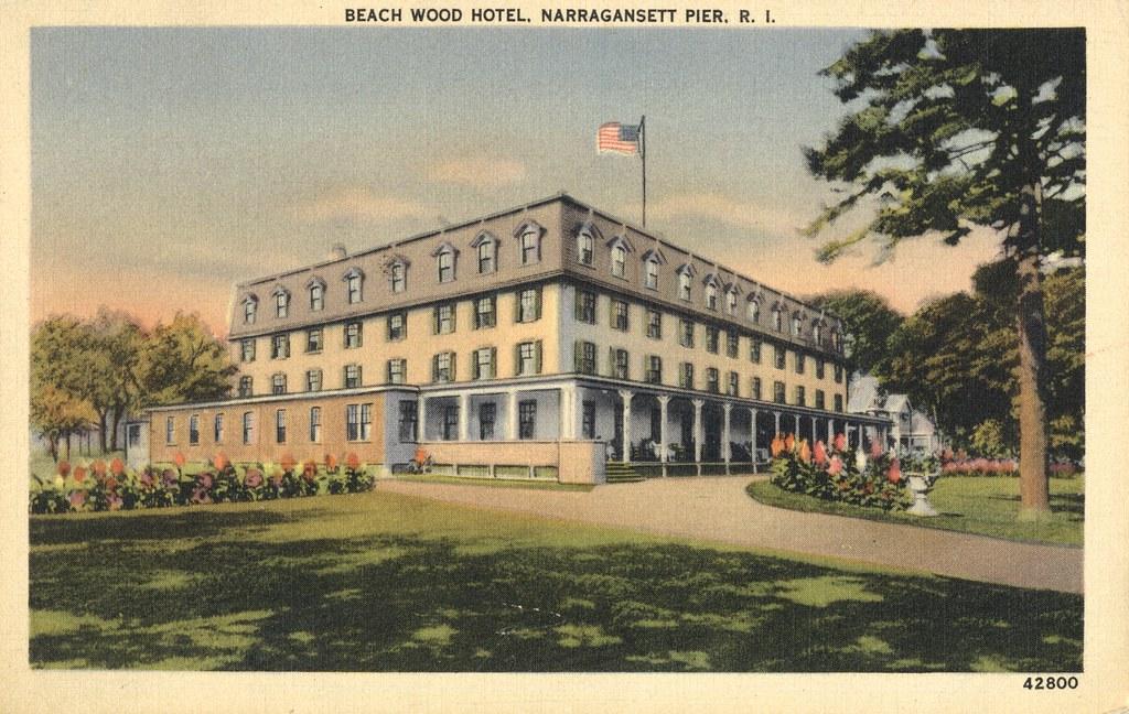 Beach Wood Hotel - Narraganset Pier, Rhode Island