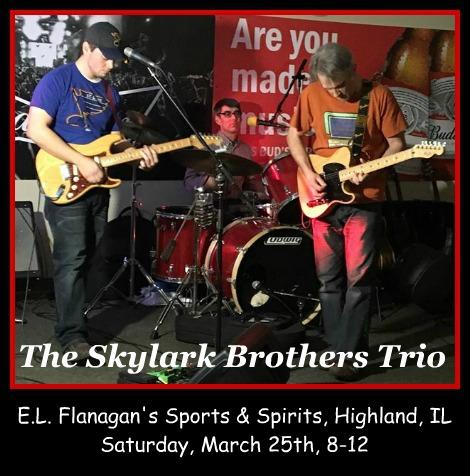 The Skylark Brothers Trio 3-25-17