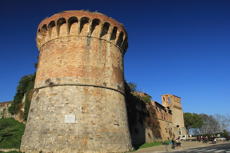 Viale Roma, San Gimignano
