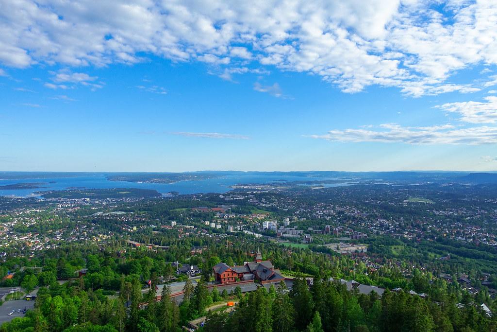 View from Holmenkollbakken