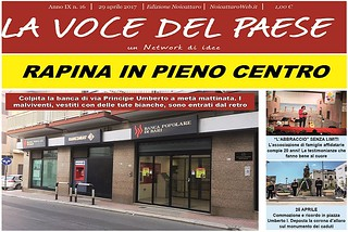 Noicattaro. Prima pagina n. 16-2017 front