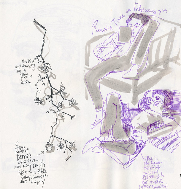 Sketchbook #103: Reading Time and Treasures