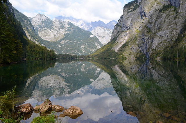 Obersee, Berchtsgaden, Bavaria, Germany