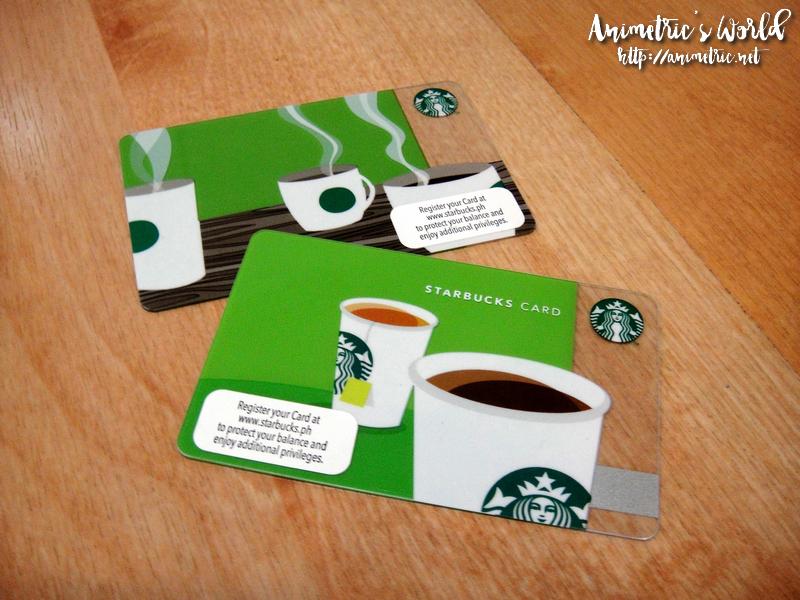 starbucks card registrieren