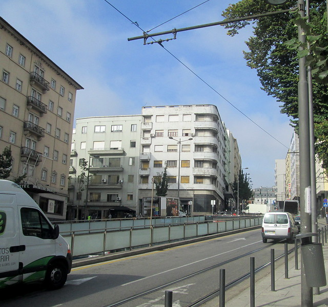 Art Deco Style Building, Porto