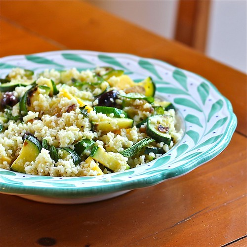 Summer Couscous with Zucchini and Mint - 600 | by The Wimpy Vegetarian
