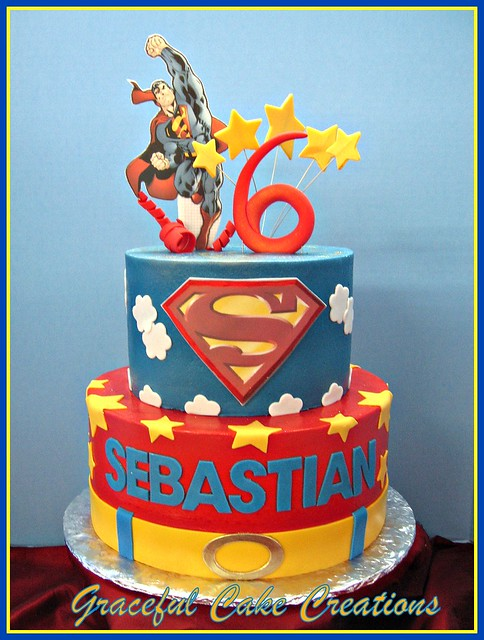 Superman Birthday Cake Add Ons At Hobby Lobby