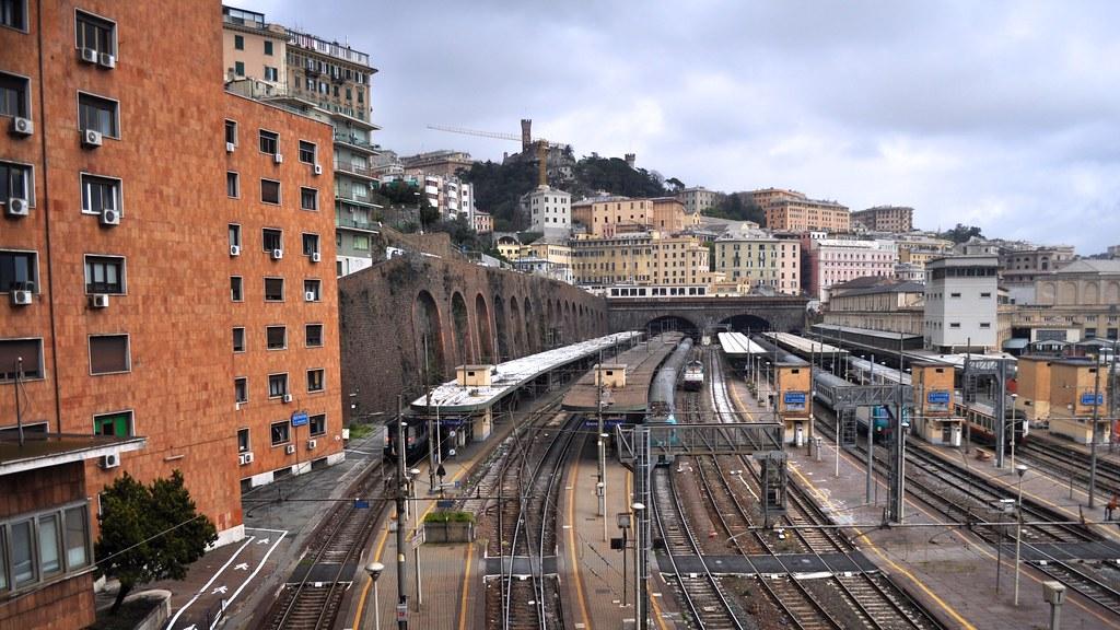 Genova piazza principe railway station genoa liguria - Genova porta principe ...