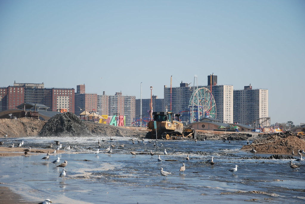 how to get to coney island beach