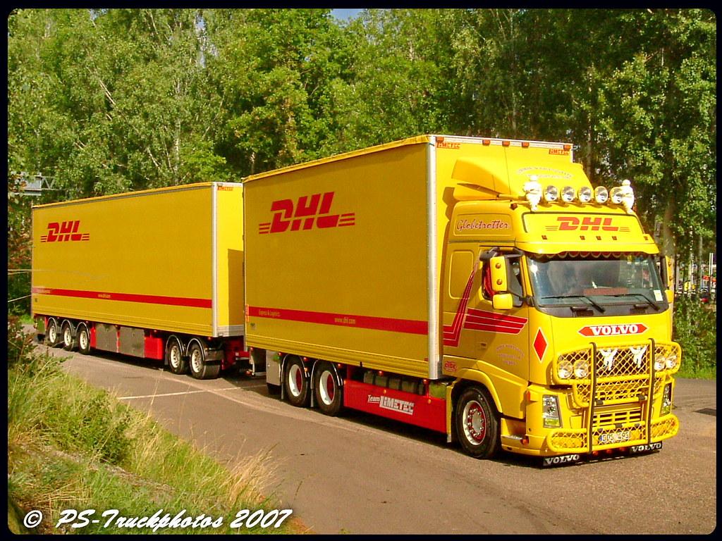 VOLVO FH12 Globetrotter - Jimmie Karlsson - DHL - Sweden | Flickr